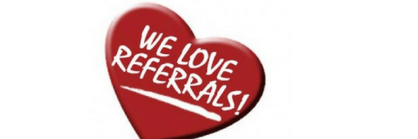 Why we love referrals