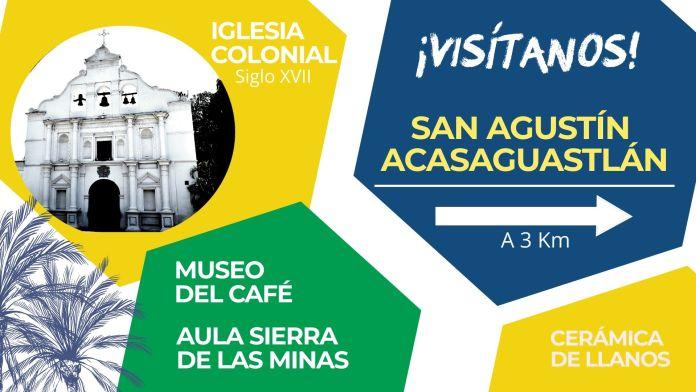 Cartel Turístico San Agustín Acasaguastlan 2025