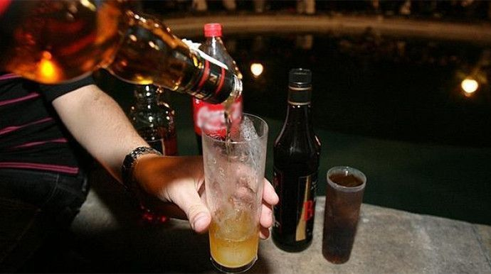Exceso de consumo de alcohol