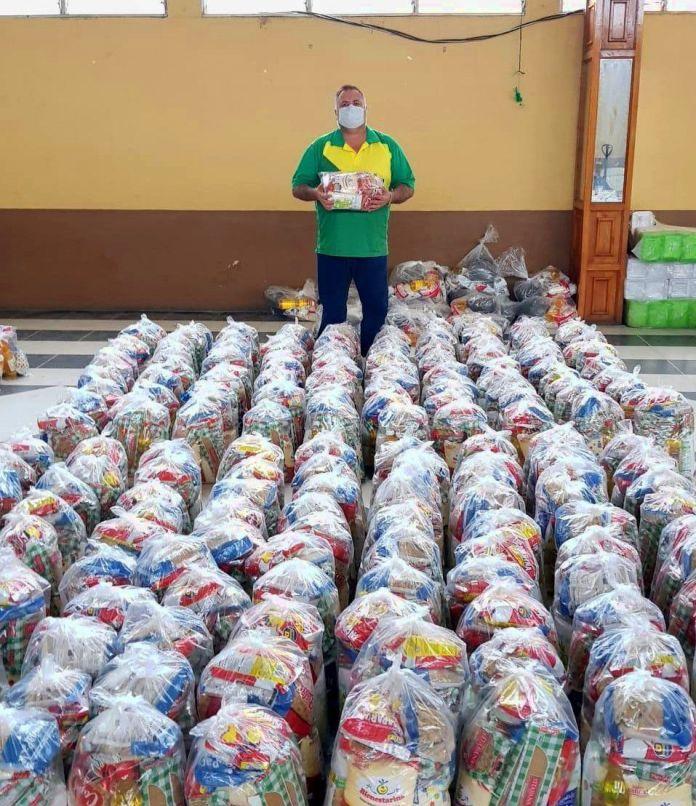 200 bolsas entregadas