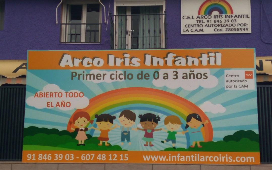 Novedades en la escuela. Arco Iris Infantil se pone más bonita