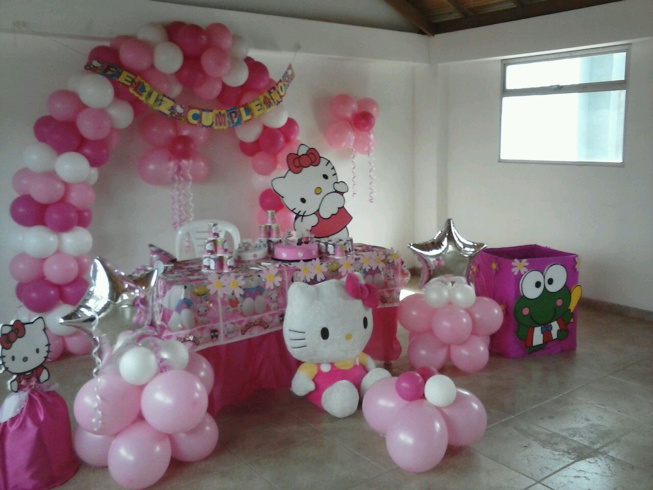 Decoraciones De Fiestas Infantiles Recreacion Tematica Hello Kitty Fiestas Infantiles