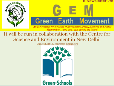 Gem 7-5-green schools project