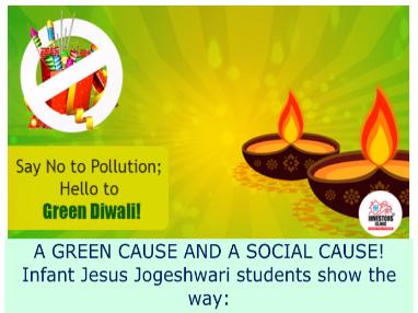 Green diwali campaign