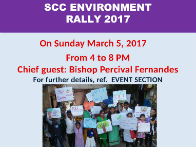 Scc environment rally plan