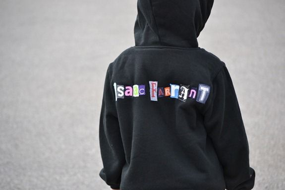 personalized sweatshirt