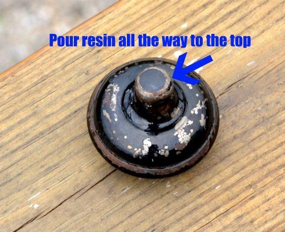 vintage door knob hook