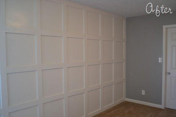 Molding Wall Tutorial