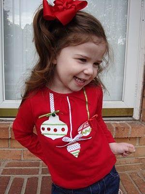 ornament silhoeutte tshirt