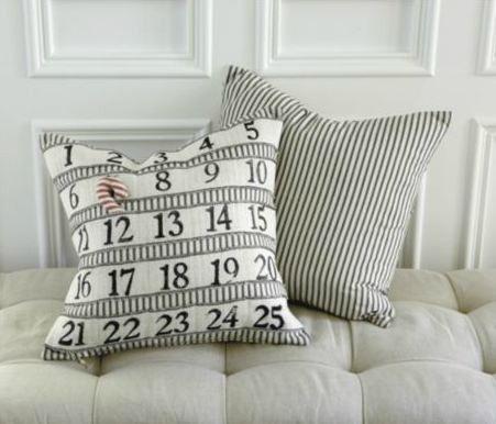 ballard designs advent calendar pillow