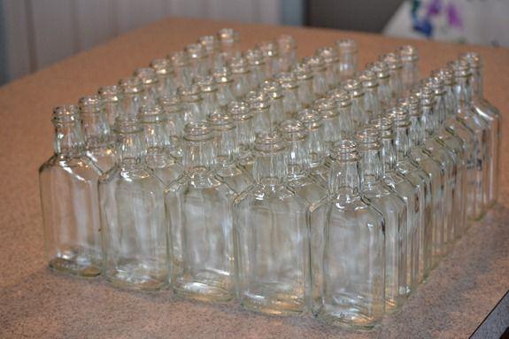 clean jack daniels bottles