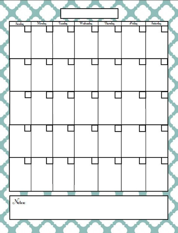 Blogger calendar