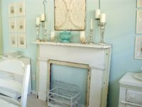 5 Ways to Fake a Fireplace Mantel - Infarrantly Creative