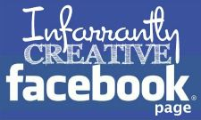Infarrantly Creative FB Button