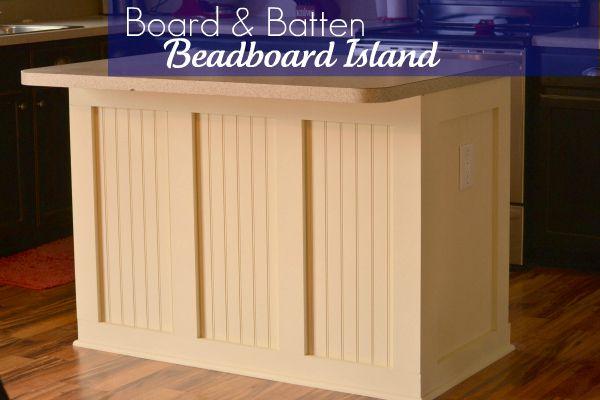 beadboard kitchen island decorative shelves board batten infarrantly creative pin it