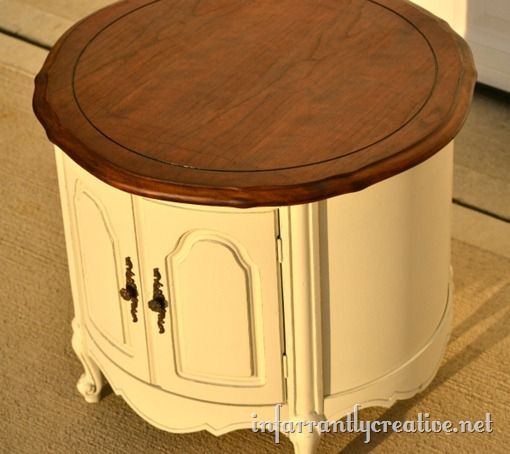 two tonal end table