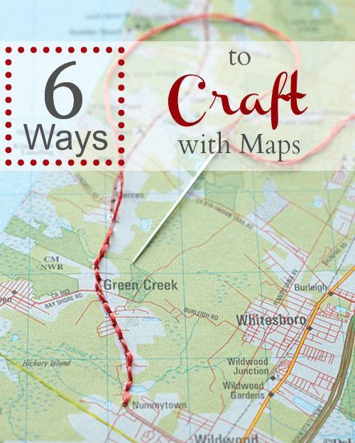 How To Craft A Map : craft, 5...No,, 6!..Ways, Craft, Infarrantly, Creative