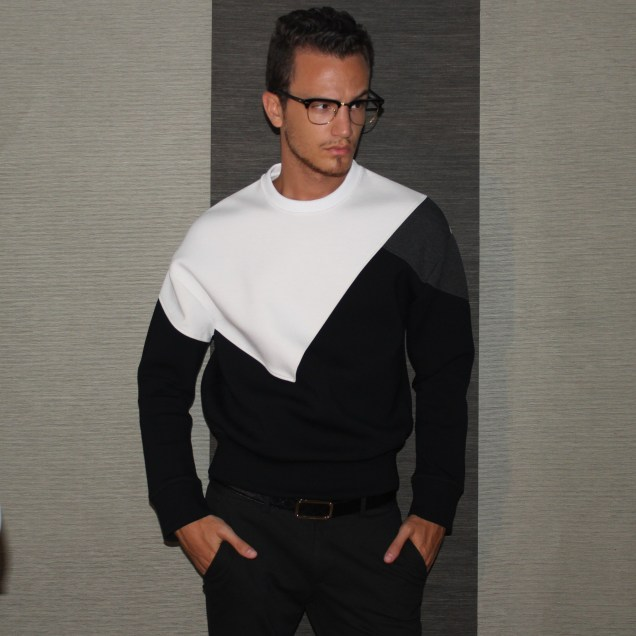 Neil Barrett Modernist Sweatshirt - F/W 13