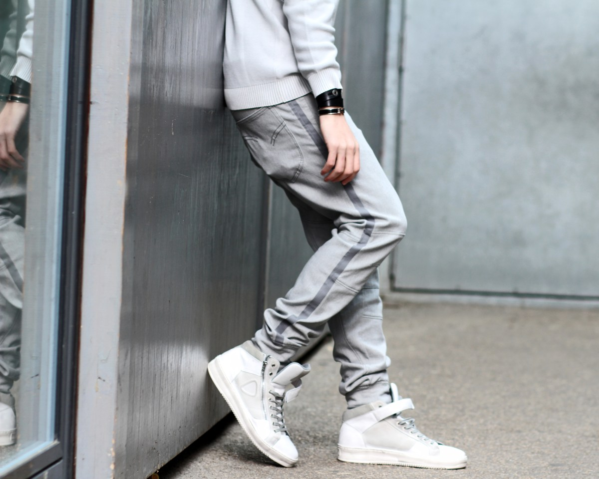 infashionity menswear fashion blog henri balit strellson casual high top white sneakers