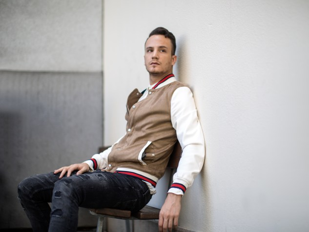 infashionity menswear fashion blog swiss henri balit photography styling varsity jacket