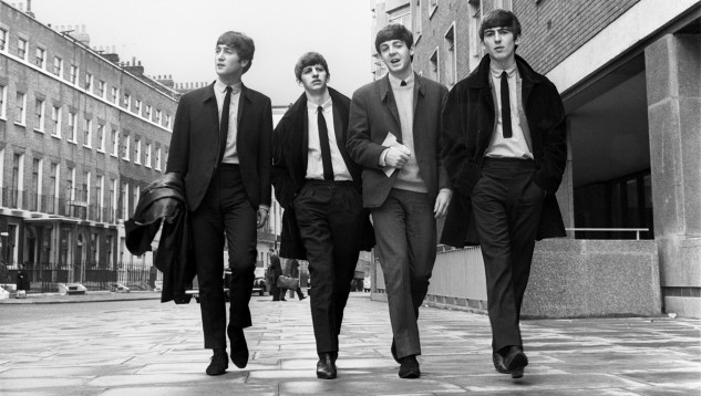 young beatles black and white fashion blog