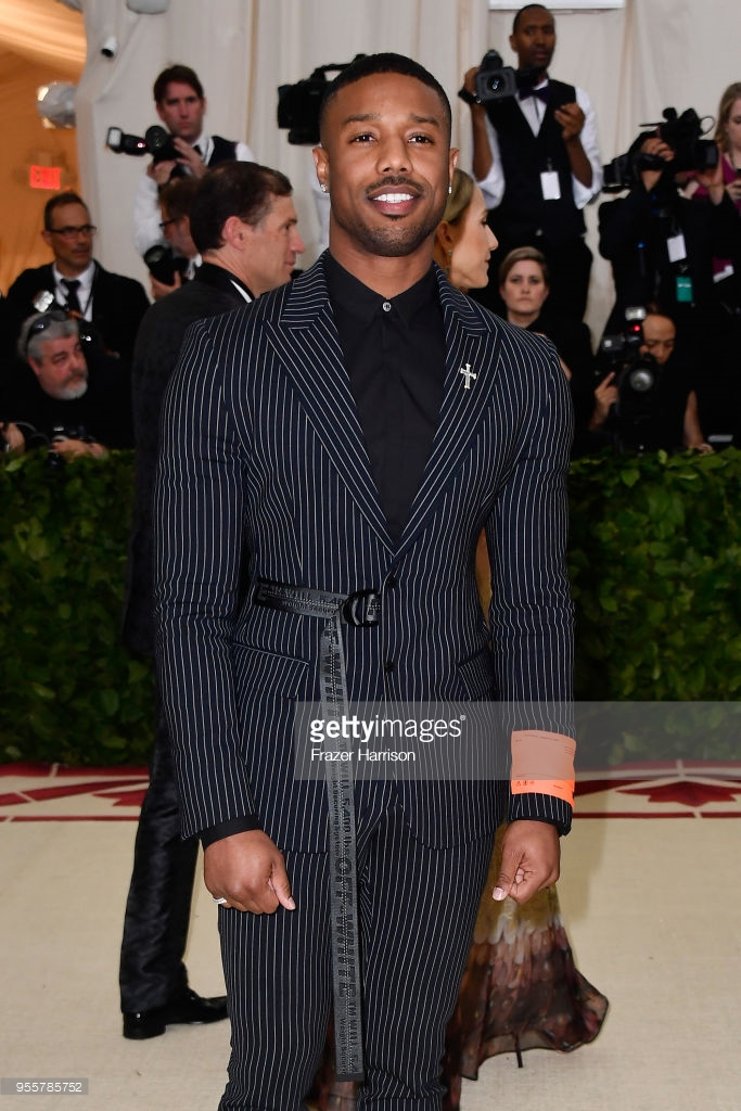 michael b jordan off white met gala 2018