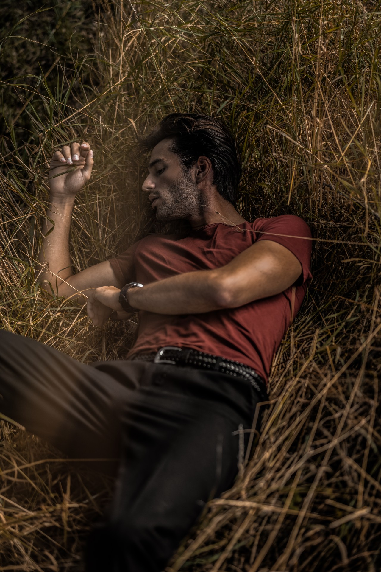 male mode field photoshoot fashion editorial henri balit infashionity