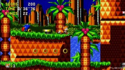 Sonic CD Play As Tails - Sonic Mania