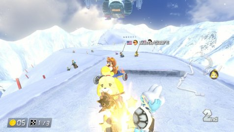 Mario Kart 8 DX Isabelle Dry Bones