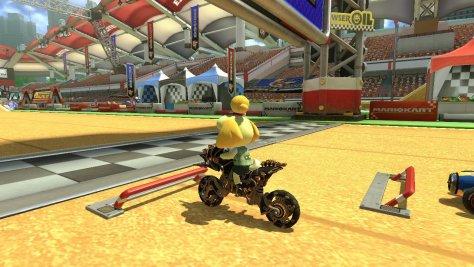 Mario Kart 8 DX Isabelle Starting