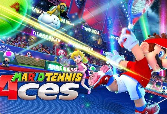 Mario Tennis Aces Title