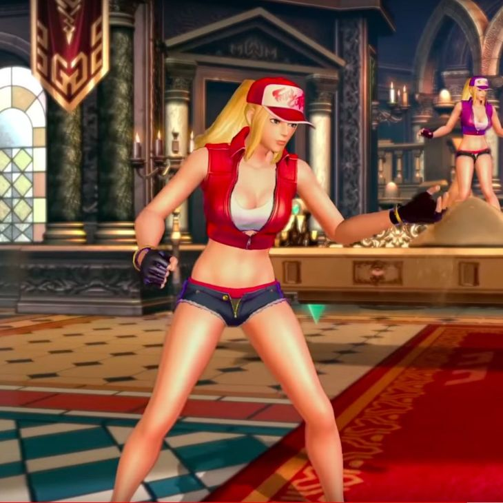 SNK Heroines Screenshot of Terry Bogard - Fatal Fury