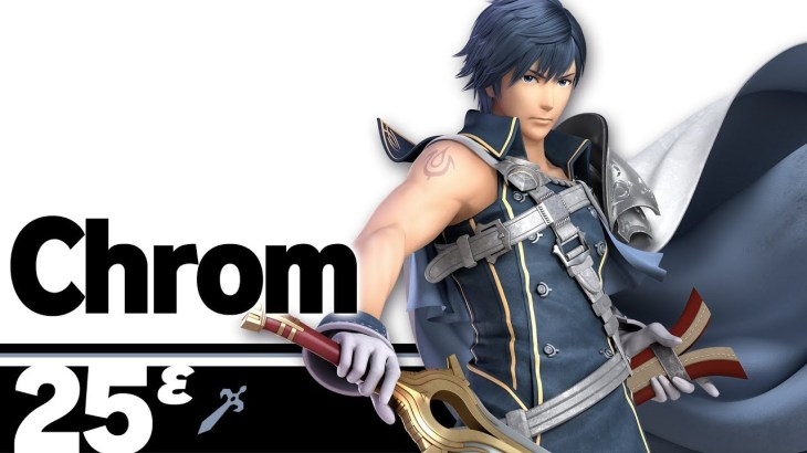 Chrom From Fire Emblem Awakening Joins Smash