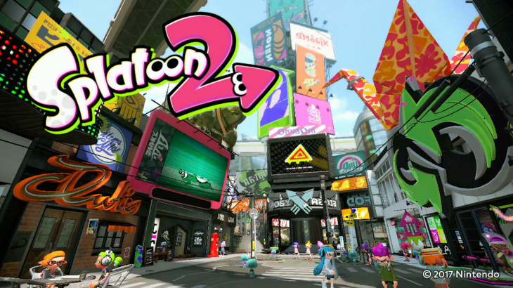 Nintendo switch games that are better with friends - Splatoon 2