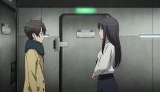 Inaho und Yuki sind froh sich lebendig wiederzusehen