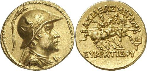 Statere aureo di Eukratides