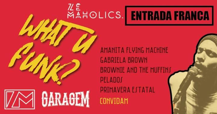 """Zé Maholics e Garagem criam a incrível """"What U Funk?"""""""