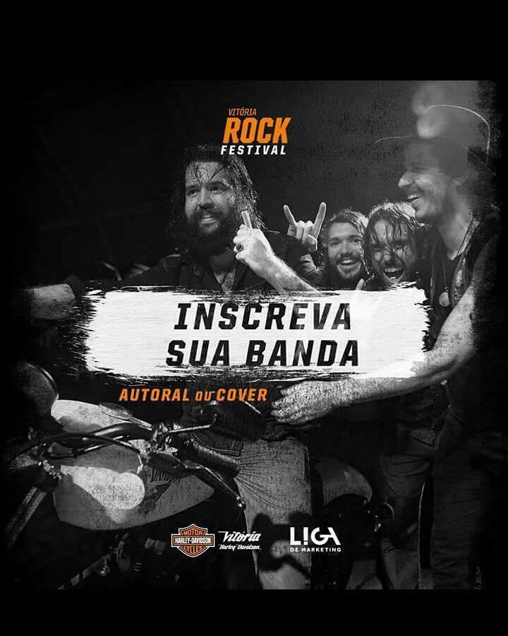 Vitória Harley-Davidson abre as inscrições para a segunda edição do Festival de Rock
