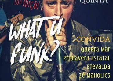 capa-what-u-funk-10-garagem-vitória-zé-maholics-divulgação