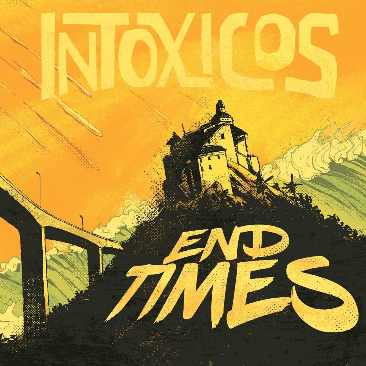 Surfe no fim dos tempos com o novo álbum da banda Intóxicos; Escute