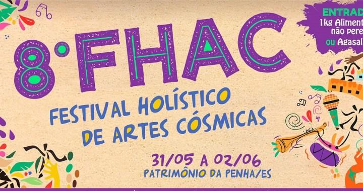 Confira a programação completa do 8º Festival Holístico de Artes Cósmicas
