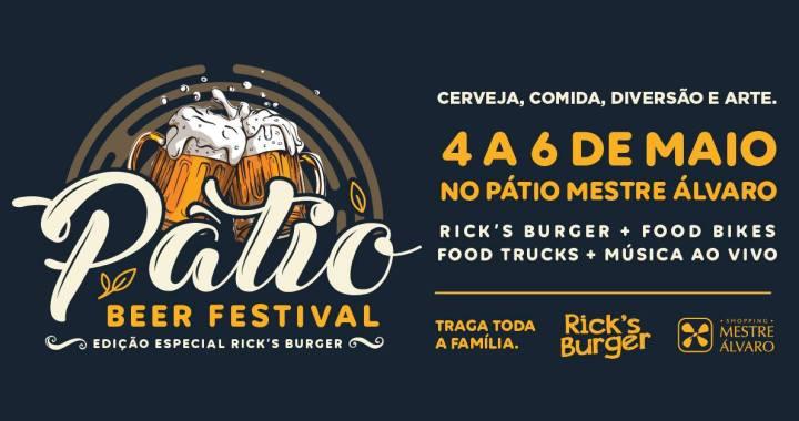 Pátio Beer Festival leva grandes atrações musicais ao Shopping Mestre Álvaro