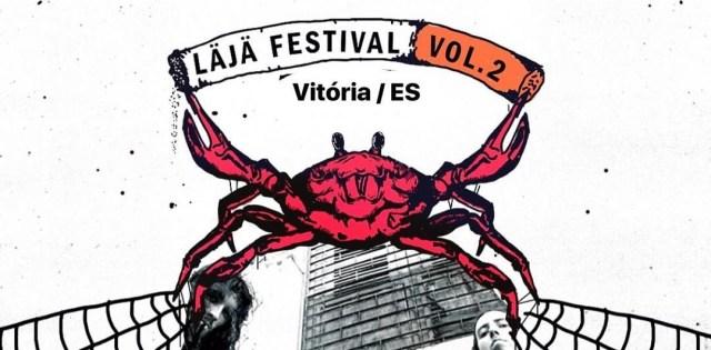 capa-läjä-festival-vol-2-cartaz-fluente-reprodução-instagram-mozine