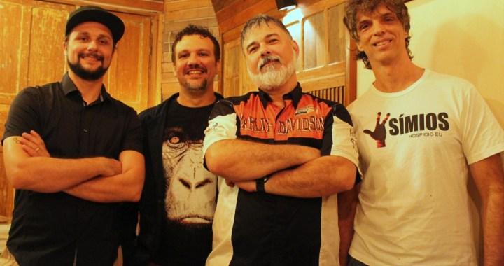 Em apresentação exclusiva, Símios se reencontra no Vitória Rock Festival