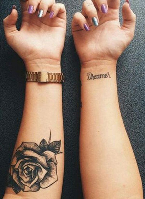 Tatuajes De Flores Pequeñas En El Brazo Sfb