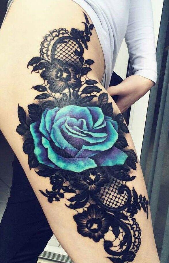 Top 90 Ideas Originales Y Fotos De Tatuajes De Rosas Para Mujer 2019