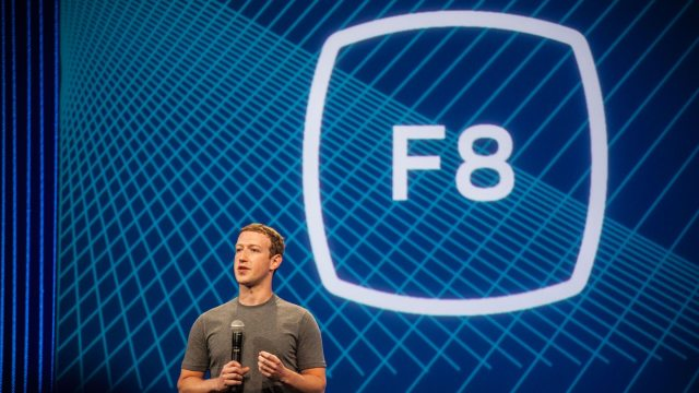 Mark Zuckerberg Facebook F8 2016
