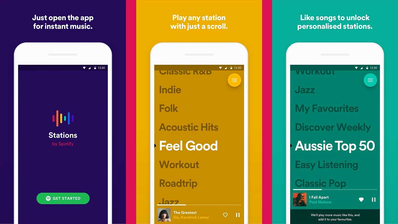 Spotify releases 'Stations', all-new playlist-streaming app on Android