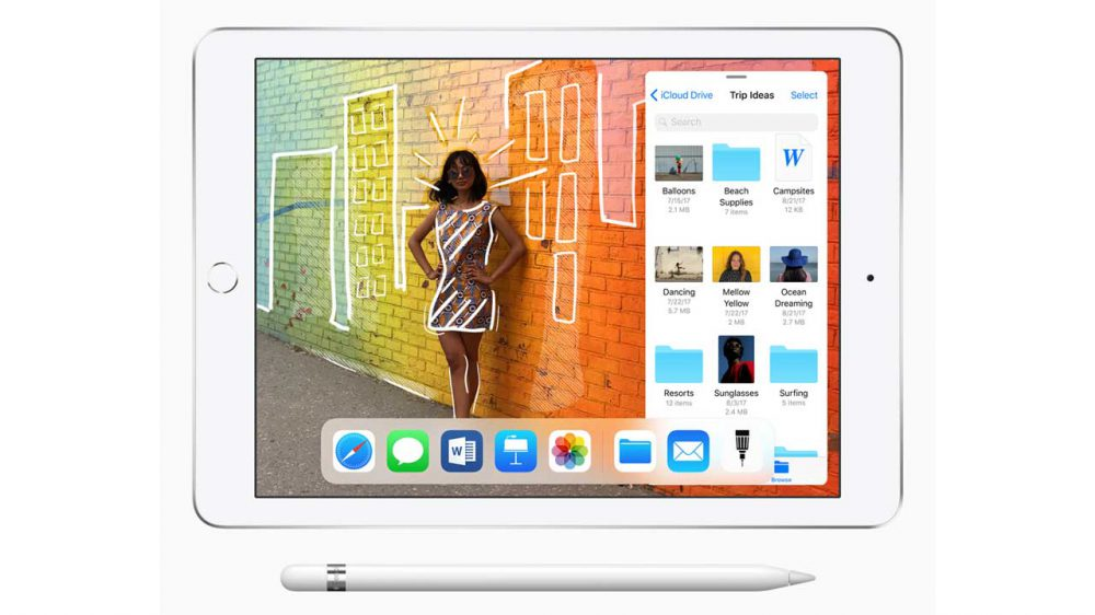 Apple new iPad Launched with Pencil Support for Education