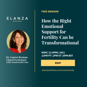 How the Right Emotional Support for Fertility Can be Transformational @ ZOOM webinar   San Jose   California   United States